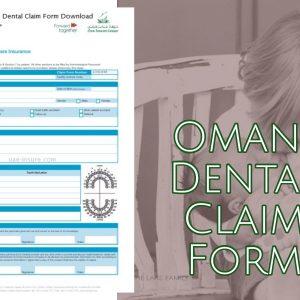 Oman insurance Dental Claim Form